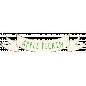 Apple Crisp- Apple Pickin' Banner