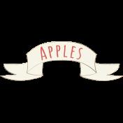 Apple Crisp- Apples Banner