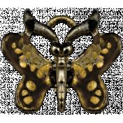 Apple Crisp- Butterfly Charm