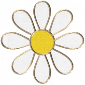 Apple Crisp - Flower Doodle 07