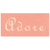 Apple Crisp- Adore Word Art
