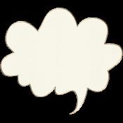 Apple Crisp- Speech Bubble Doodle 01