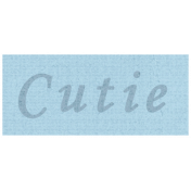 Apple Crisp- Cutie Word Art