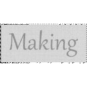 Apple Crisp- Making Word Art