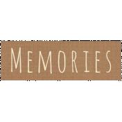Apple Crisp- Memories Word Art