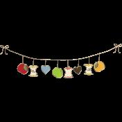Apple Crisp- Banner Doodle 02