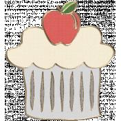 Apple Crisp- Cupcake Doodle 01
