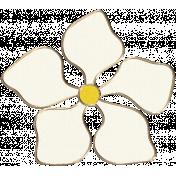 Apple Crisp- Flower Doodle 08