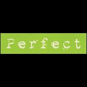 Apple Crisp- Perfect Word Art