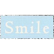 Apple Crisp- Smile Word Art