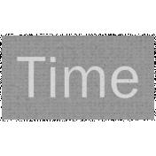 Apple Crisp- Time Word Art