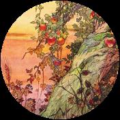 Apple Crisp- Ephemera Brad Disk 19
