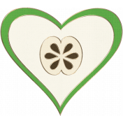 Apple Crisp- Heart Doodle 04