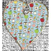 Apple Crisp- Heart Doodle 05