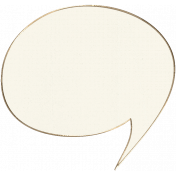Apple Crisp- Speech Bubble Doodle 02