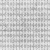 Apple Crisp- Gray Diamonds Paper
