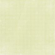 Apple Crisp- Light Green Gingham Paper