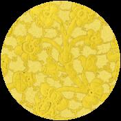 Apple Crisp- Lace Brad Disk