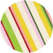 Apple Crisp- Striped Brad Disk