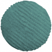 Day of Thanks- Teal Button 03