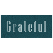 Day of Thanks- Grateful Word Art
