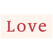 Day of Thanks- Love Word Art