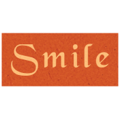 Day of Thanks- Smile Word Art