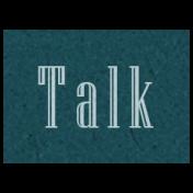 Day of Thanks- Talk Word Art