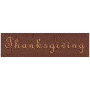 Day of Thanks- Thanksgiving Word Art
