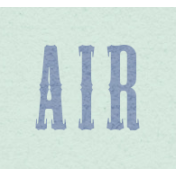 New Day- Air Word Art