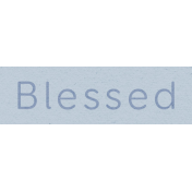 New Day- Blessed Word Art