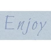 New Day- Enjoy Word Art