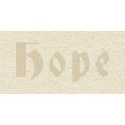 New Day- Hope Word Art
