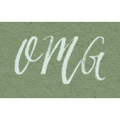 New Day- OMG Word Art