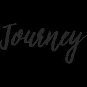 Enjoy The Moment- Journey Word Art