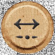 Toolbox Alphabet Bingo Chip Extras- Arrow Bingo Chip 06