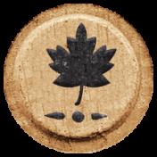Toolbox Alphabet Bingo Chip Extras- Leaf Bingo Chip 01