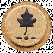 Toolbox Alphabet Bingo Chip Extras- Leaf Bingo Chip 03