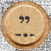 Toolbox Alphabet Bingo Chip Extras- Quote Bingo Chip 02