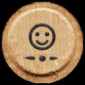 Toolbox Alphabet Bingo Chip Extras- Smile Bingo Chip