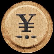 Toolbox Alphabet Bingo Chip Extras- Yen Bingo Chip