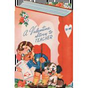 Toolbox Valentines Vintage Kit 2- Valentine 09