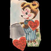 Toolbox Valentines Vintage Kit 2- Valentine 12