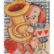 Toolbox Valentines Vintage Kit 3- Valentine 14