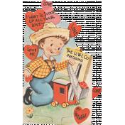 Toolbox Valentines Vintage Kit 3- Valentine 16