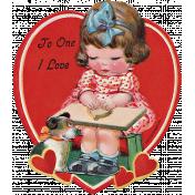 Toolbox Valentines Vintage Kit 3- Valentine 17