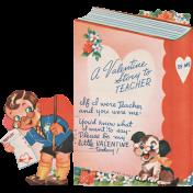 Toolbox Valentines Vintage Kit 3- Valentine 18