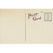 New day- Postcard