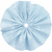 Good Life April 2018- Light Blue Fabric Flower