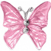 Good Life April 2018- Pink Butterfly Charm